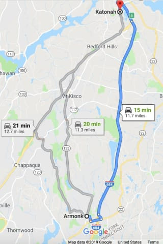 Brand-New Round Of Double Lane Closures Scheduled On Lengthy Stretch Of I-684