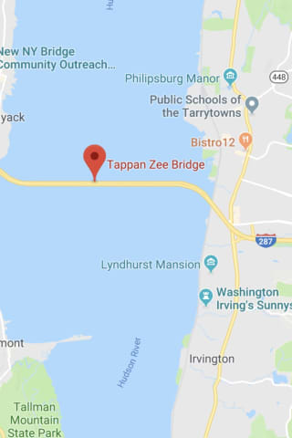 Three-Vehicle Crash Backs Up Traffic On New Tappan Zee Bridge