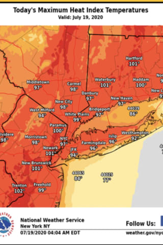 Heat Advisory: Dangerously Hot Conditions Grip Region - Here's When We'll See Some Relief