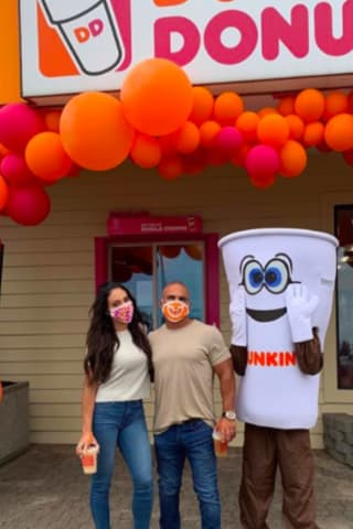 'RHONJ' Couple Welcomes Guests At Jersey Shore Dunkin' Donuts