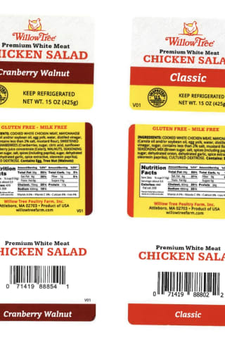 Recall Issued For Popular Brand Of Chicken Salad