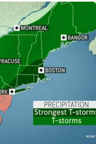 Severe Thunderstorm Watch In Effect For Entire Region, With 65 MPH Wind Gusts Possible