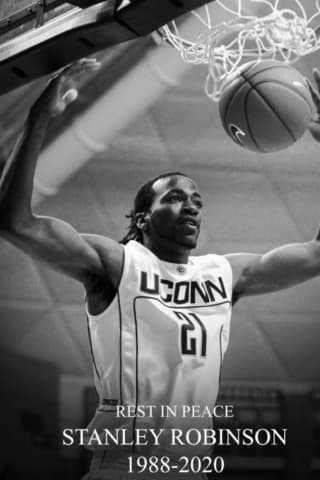 Former UConn Basketball Star 'Sticks' Robinson Found Dead