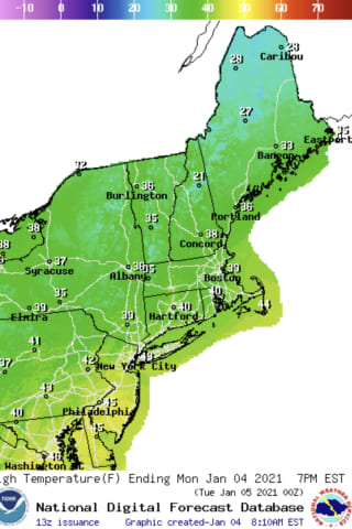 Week-Ahead Forecast: Mostly Sunny With A Chance Of Snow Early On