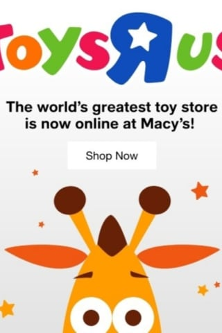 Look Who's Coming Back: Toys 'R' Us Will Be Making Comeback Inside Macy's Stores, Online
