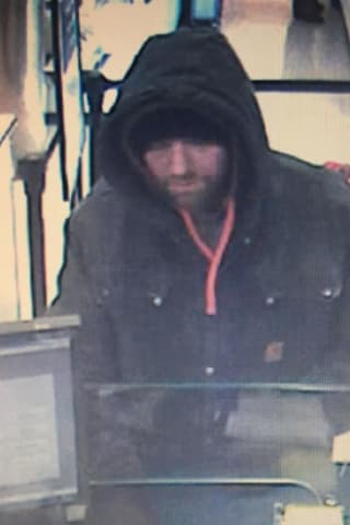 Know Him? Police Seek To ID Armed Robbery Suspect At People's Bank At Area Stop & Shop