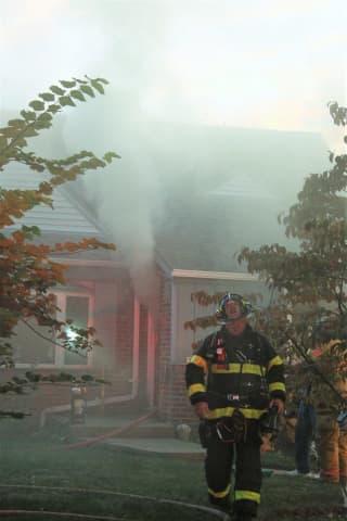 PHOTOS: Firefighters Douse Fair Lawn House Blaze