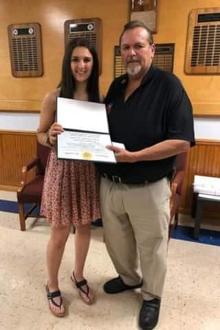 FASNY Scholarship Awarded To Rockland Student, Volunteer Firefighter