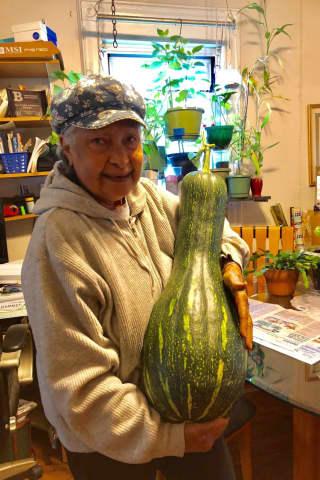 Oh, Gourd: Bergenfield Grandma Grows Massive Pumpkin