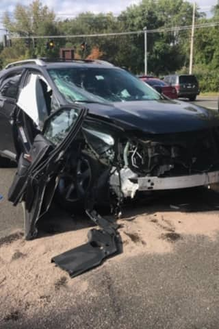 Two Injured In Crash Involving Westchester County Police Vehicle On Taconic