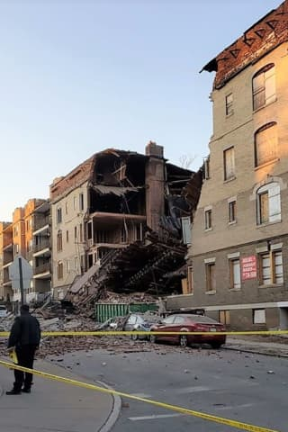 UPDATE: No Apparent Victims In East Orange Building Collapse, City Officials Say