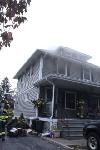 Firefighters Douse Rochelle Park Basement Fire