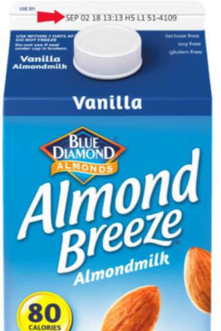 Hood Recalls Vanilla Almond Breeze Milk