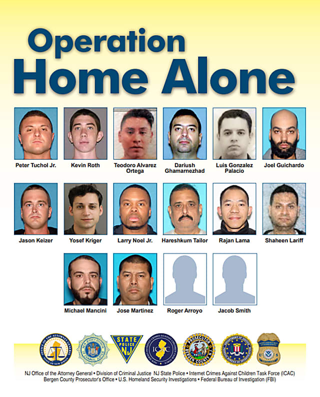 Operation Home Alone': 16 Nabbed, Including Ridgewood
