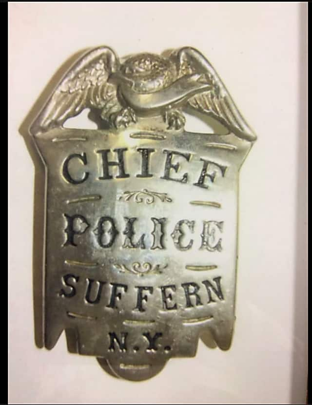 Suffern Police Department Saves First Police Chief's Badge From 1896