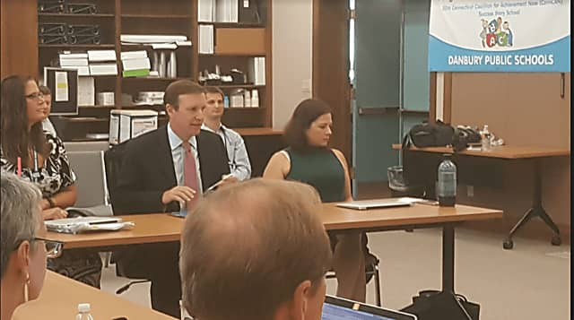 Murphy Meets With Danbury Educators To Help 'Every Student