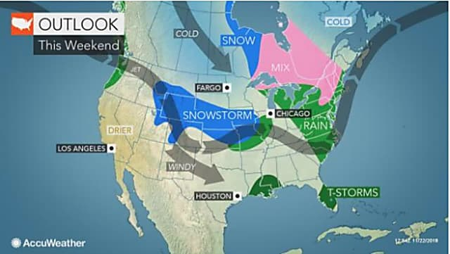 Cold Snap Will End Before Rain Arrives, Preventing Potential