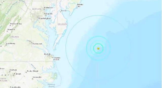 Feel It? 4.7 Magnitude Earthquake Reported Off East Coast ...