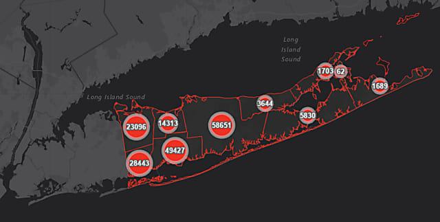 COVID-19: Long Island Positive-Test Rate Increases Again; New Breakdown By County, Community