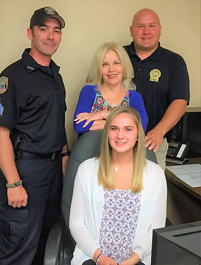 Garfield Intern Learns Inner Workings Of Police Department Garfield Lodi Daily Voice