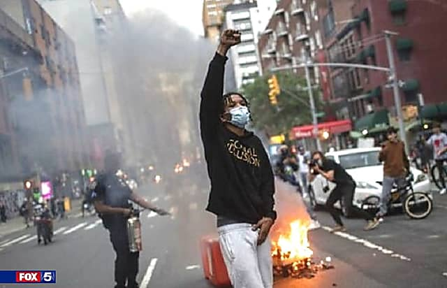 Justice Dept: NYC Allows 'Anarchy, Violence, Destruction,' Federal Funds In Jeopardy