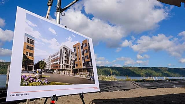 yonkers breaks ground on largest development in city waterfront history yonkers daily voice yonkers breaks ground on largest