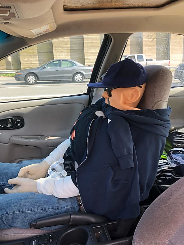 Motorist Caught Using Phony Passenger In HOV Lane On LIE