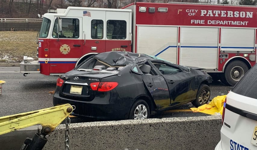 UPDATE: Bergenfield Man, Woman Killed In Route 80 Double-Crash In