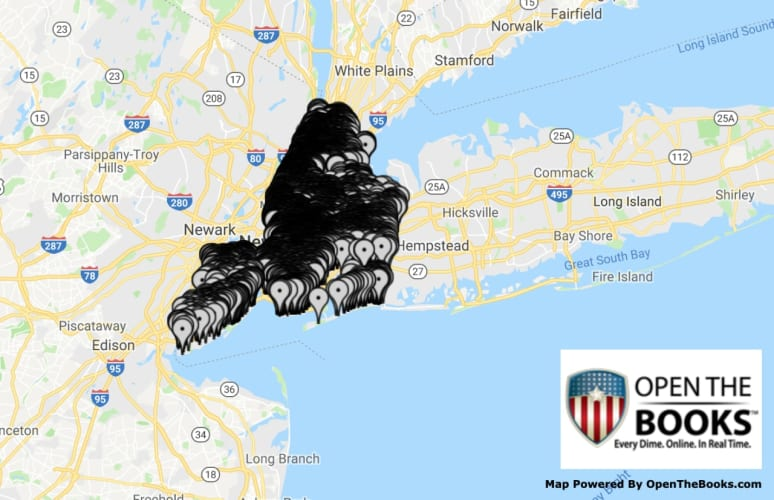 Map Of New York City And Long Island.This Interactive Map Shows Where Rats Are In Nyc With 38 Percent