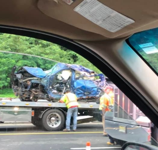 Another Hellish Commute After Trucks Collide On Route 80 E