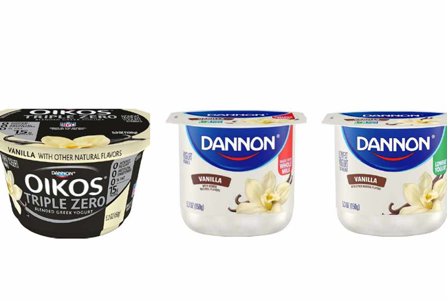 Danone accused of mislabeling vanilla yogurt brands in $5M